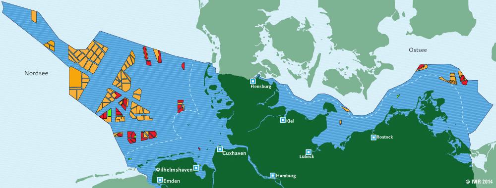 windparks deutschland karte Deutschland   Offshore Windindustrie