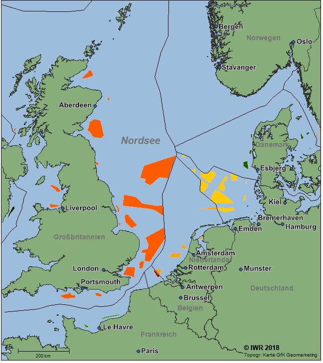 Europa Offshore Windindustrie